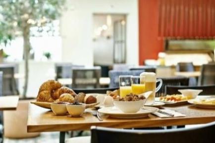 Frühstück in der Krone
