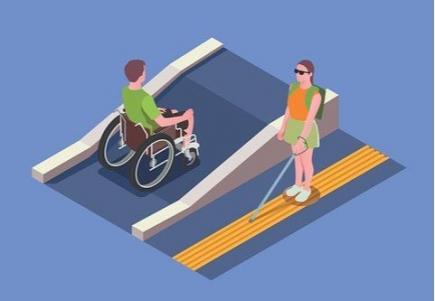 Monika Zollinger gibt uns einen Einblick in die Welt der Blindheit.